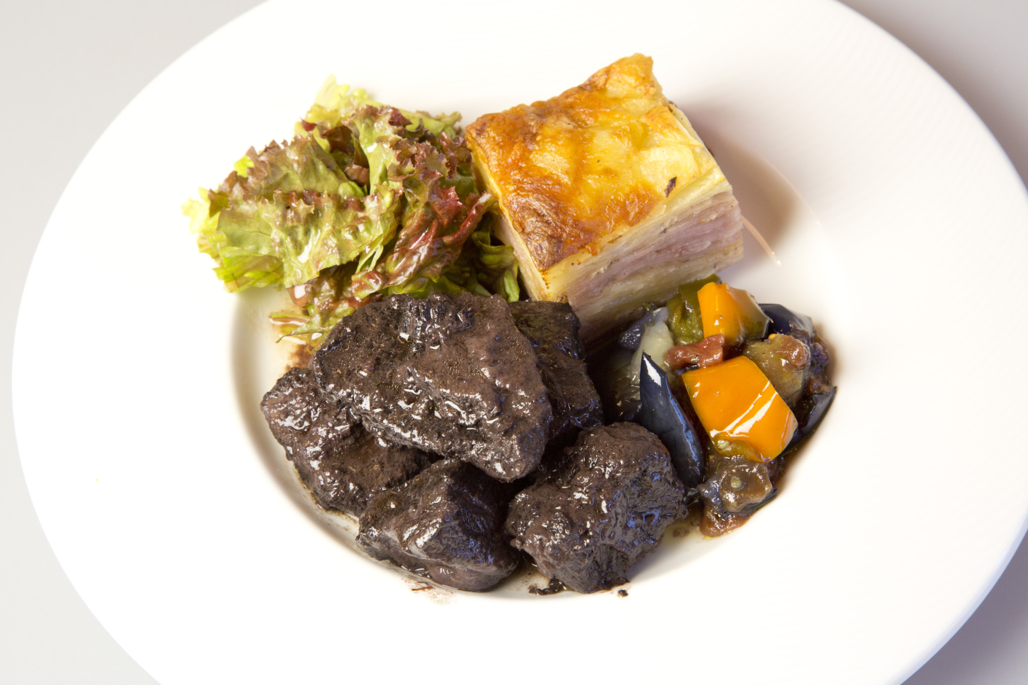 Cafe le Parisien 料理撮影